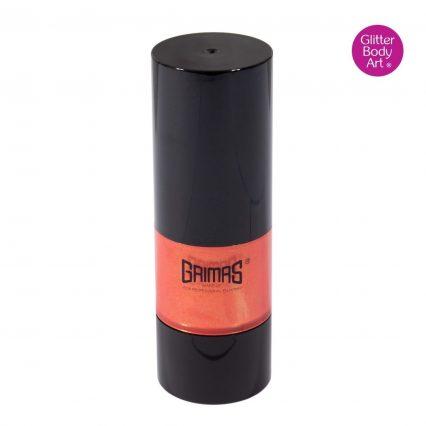 orange grimas liquid make up , grimas face paint