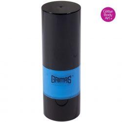 Grimas liquid makeup, blue liquid face paint