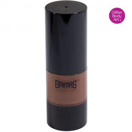Grimas liquid makeup, grimas brown liquid face paint