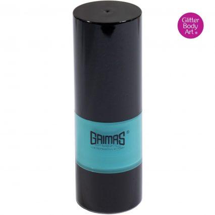 Grimas liquid make up, grimas turquoise face paint