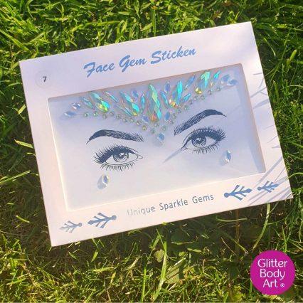 festival face gem - face jewels