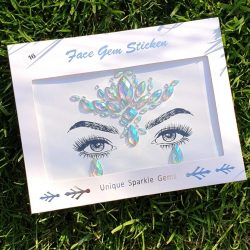 festival face gems, self-adhesive face jewels