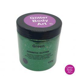green cosmetic wholesale glitter