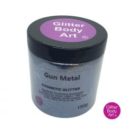 gunmetal cosmetic wholesale glitter