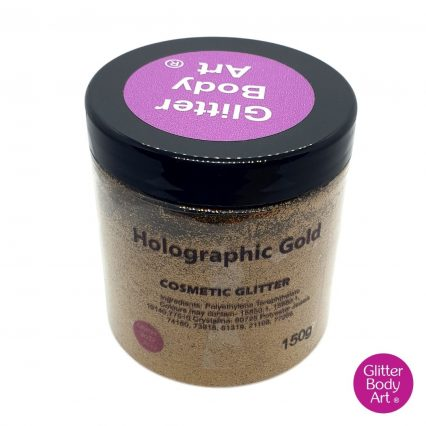 Holographic gold wholesale glitter