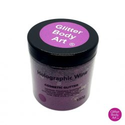 holographic wine cosmetic wholesale glitter