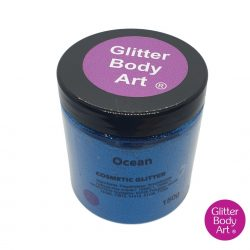 Ocean Blue cosmetic wholesale glitter