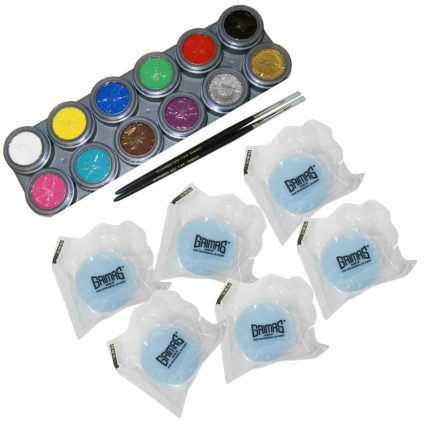 Grimas Face Paint KIt, Face Paint Pallete, Face Paint Shop UK
