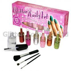 Glitter Nail Art Kit